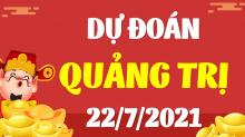 Soi cầu XSQT 22/7/2021 - Dự đoán xổ số Quảng Trị 22/7/2021 thứ 5