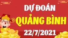 Soi cầu XSQB 22/7/2021 - Dự đoán xổ số Quảng Bình 22/7/2021 thứ 5