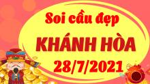 Soi cầu XSKH 28/7/2021 - Dự đoán xổ số Khánh Hòa 28/7/2021 thứ 4