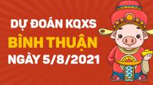 Dự đoánXSBTH 5/8/2021 ❤️ Soi cầuxổ số Bình Thuận 5/8 thứ 5