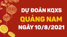Dự đoánxổ số Quảng Nam 10/8/2021 ❤️ Soi cầuXS Quảng Nam 10/8 thứ 3