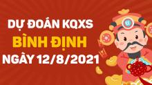 Dự đoán XSBDI 12/8/2021 - Soi cầu xổ số Bình Định 12/8 thứ 5