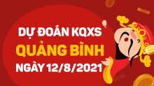 Dự đoán XSQB 12/8/2021 - Soi cầu xổ số Quảng Bình 12/8 thứ 5