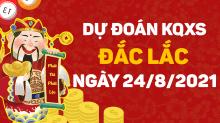 Dự đoán xổ số Đắk Lắk 24/8/2021 - Soi cầu XS Đắk Lắk 24/8 thứ 3