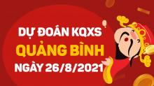 Dự đoán XSQB 26/8/2021 - Soi cầu xổ số Quảng Bình 26/8 thứ 5