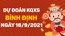 Dự đoán XSBDI 16/9/2021 - Soi cầu xổ số Bình Định 16/9 thứ 5