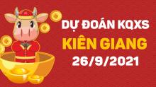 Dự đoán XSKG 26/9/2021 - Soi cầu xổ số Kiên Giang 26/9 chủ nhật
