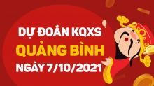 Dự đoán XSQB 7/10/2021 - Soi cầu xổ số Quảng Bình 7/10 thứ 5
