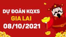 Dự đoán XSGL 8/10/2021 - Soi cầu xổ số Gia Lai 8/10 thứ 6